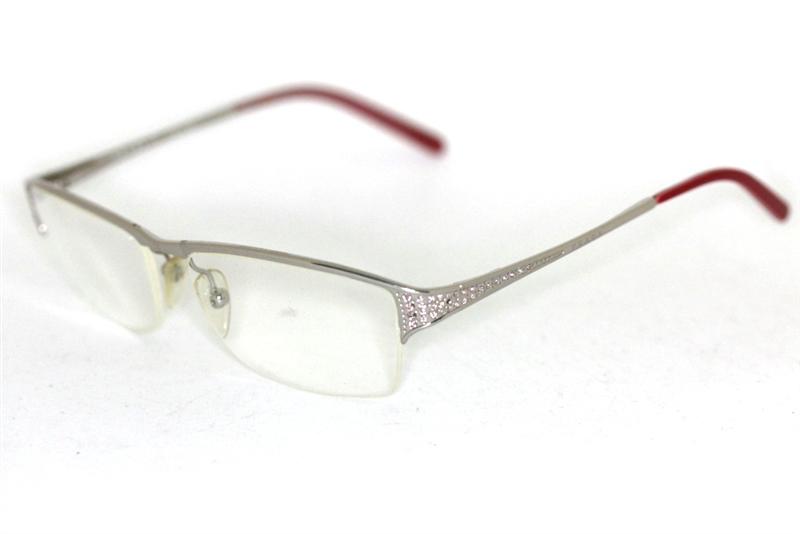 prada vpr70h 10o 1o1 brille silber leicht rosa stra glasses lunettes fassung ebay. Black Bedroom Furniture Sets. Home Design Ideas