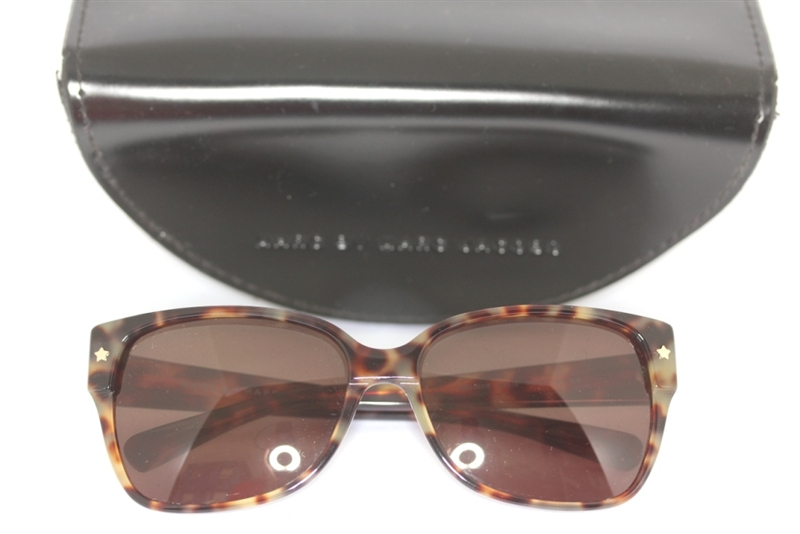 marc by marc jacobs mmj201 s 4gx1e sonnenbrille horndesign braun sunglasses ebay. Black Bedroom Furniture Sets. Home Design Ideas