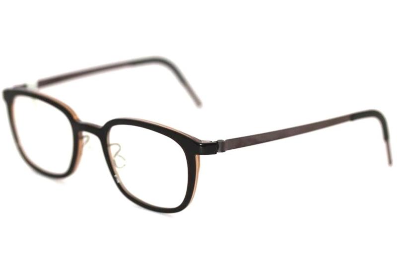f2a8a69527c Lindberg ACETANIUM RIM 1233 col.AD05 Brille Braun glasses .