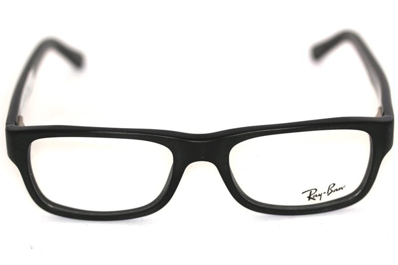 ray ban matt schwarz sehbrille
